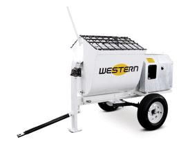 Plaster/Mortar Hydraulic 1200 Mixers - Western Equipment